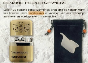 Albatros pocket warmer