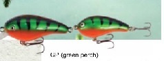 Albatros Predox Joe's 1 GreenPerch 13 cm 20 gr