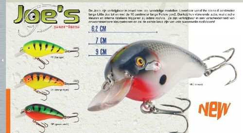 Predox Joe's Green perch 6,2 cm 8,5 gram