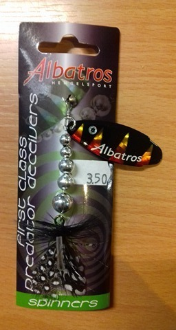Albatros predator deceiver pearl /magic/orange