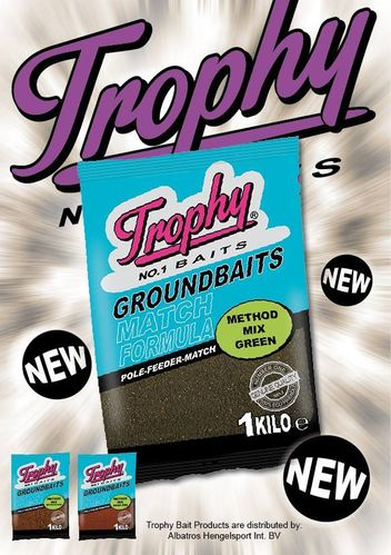 Trophy Bait Method Mix Fishmeal Dark Red 1kg