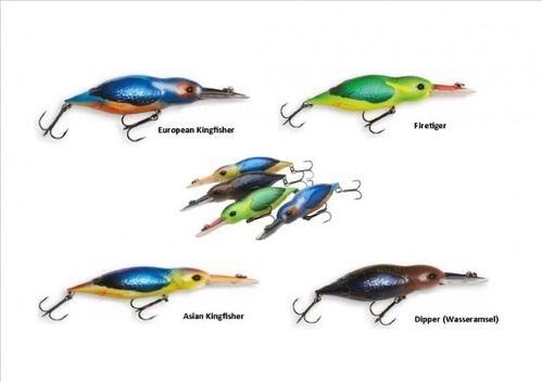 Dam Effzet Eisvogel 11cm 28gr asian kingfisher