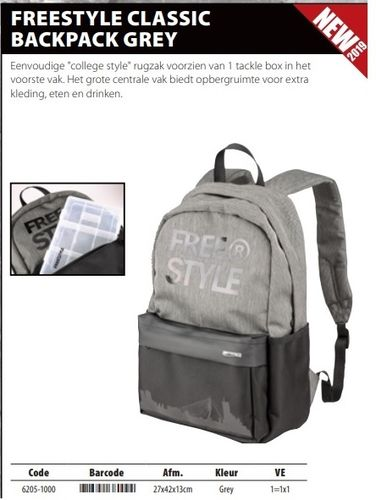 Freesrtyle classic backpack grey