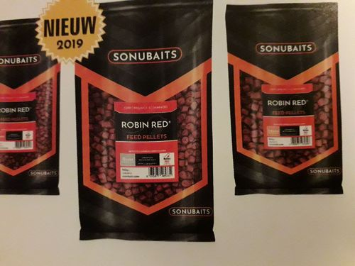 Sonubaits Robin Red Feed 14mm drilled
