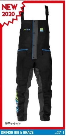 Preston Drifish Bib & brace XXlarge