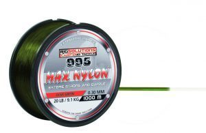 Rig Solutions 995 Max Nylon olive green 0,30 mm /25LB 1000meter