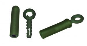 Rig Solutions backlead ring with rubber color olive green 5 stuks