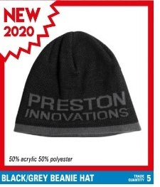 Preston Black /Grey Beany Hat
