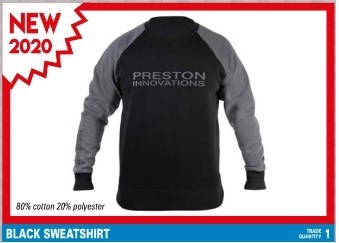 Preston Black sweater XXXL